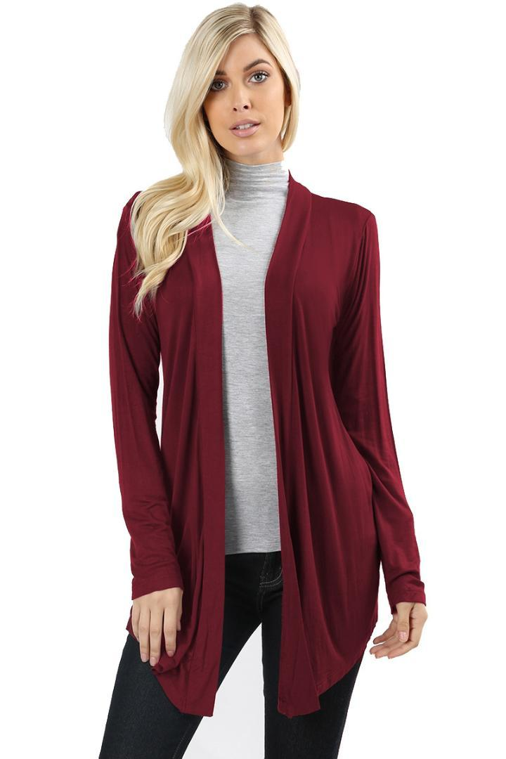 c390186968 2018 Spring Autumn Knitted Sweater Cardigan Women Open Stitch winter Jacket  Loose Big yards Joker Long Sweaters coat Plus Size