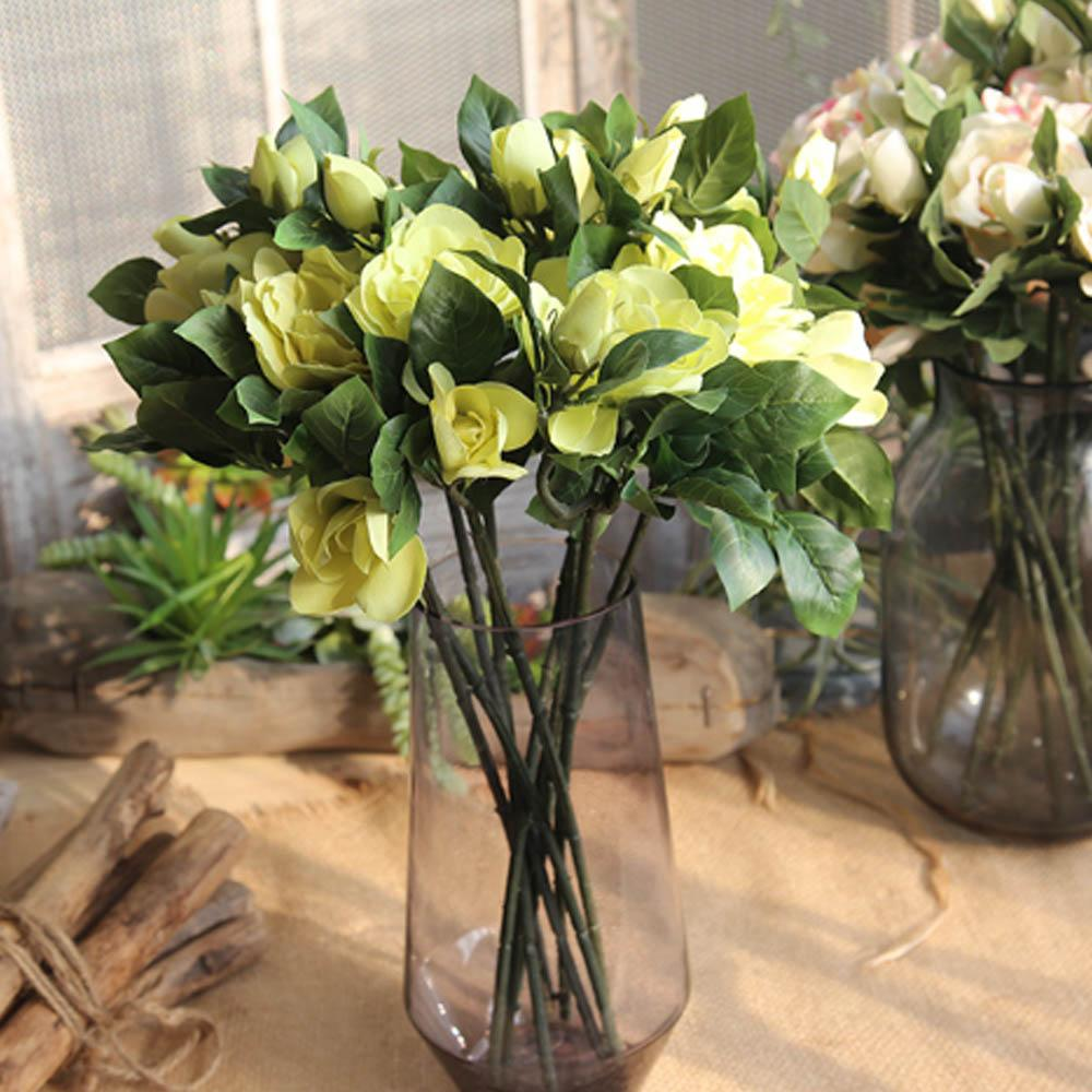 New 47cm artificial flowers fanbu gardenia flower for home office new 47cm artificial flowers fanbu gardenia flower for home office party decorative flower high quality artificial flowers fake flower decorative flowers izmirmasajfo