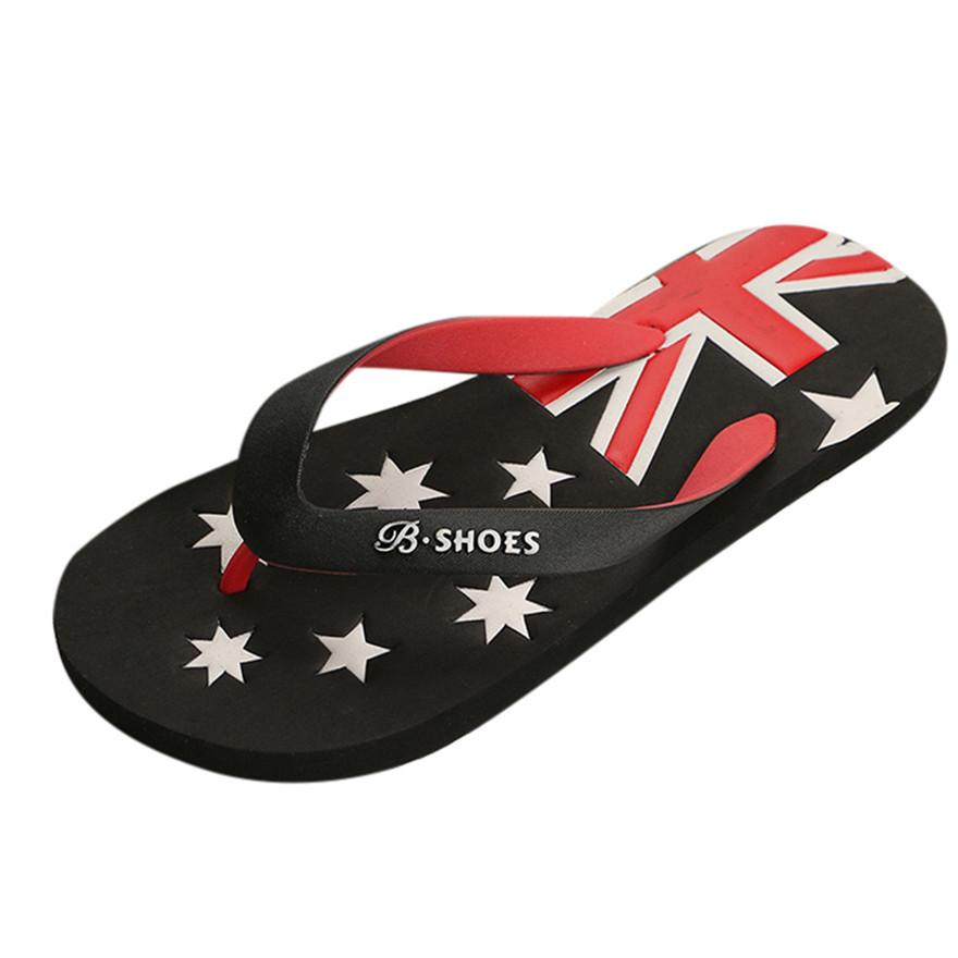 60edc48dcccf New Arrival Men American Flag Anti Skidding Flip Flops Slipper Sandals  Indoor Outdoor Casual Slippers High Quality Beach ShoesS Men Boots Slipper  Boots From ...