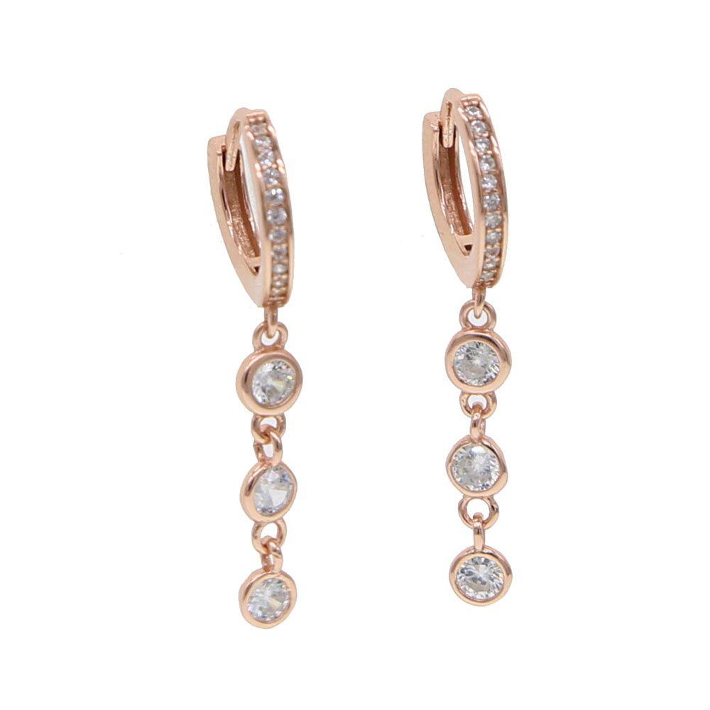 2fd5307be 2019 Trendy Elegant 925 Sterling Silver Round Cz Long Earrings Zircon  String Statement Dangle Earrings Women Party Exquisite Jewelry From  Ruijewelry, ...
