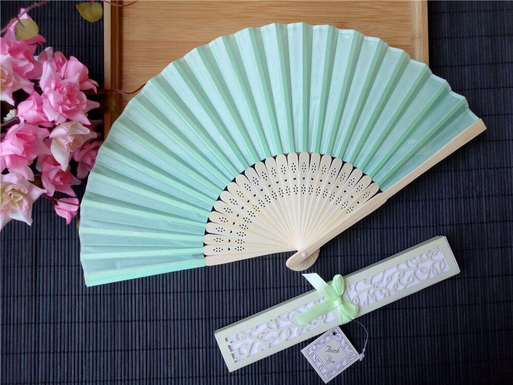 Personalized Wedding Favors And Gifts For Guest Silk Fan Cloth