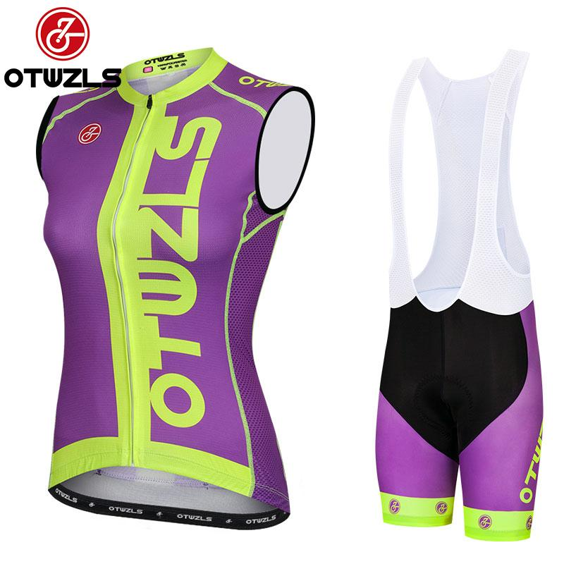 6c7b41264 Women Cylcing Jersey Sleeveless Summer Pro Team Cycling Clothing ...