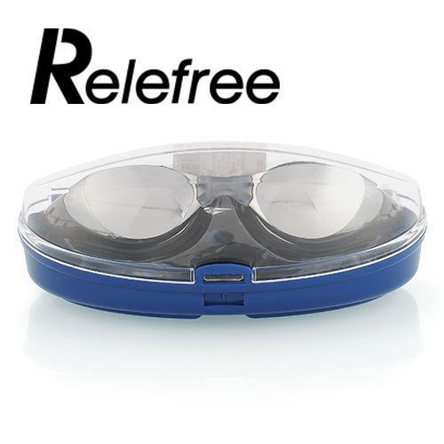 f8ce7c6f87e8 2019 Relefree Adult Womens Anti Fog Effect UV Swimming Goggles ...