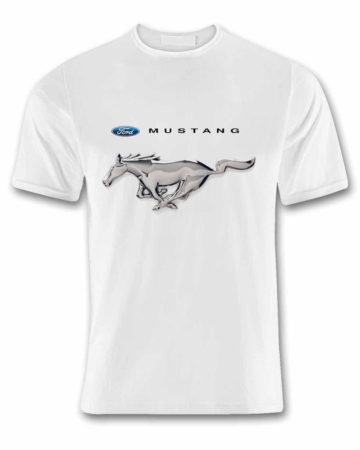 9bda98e3cf1 Compre Camiseta Ford Mustang T Branco De Men t shirt