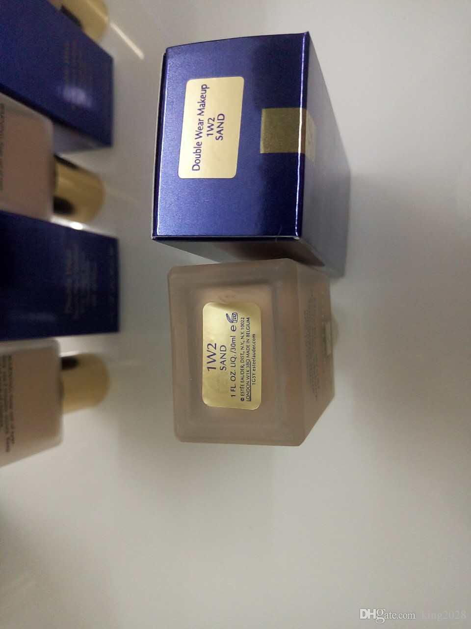 مؤسسة ارتداء مزدوجة السائل البقاء في مكان ماكياج المخفي 30ML 2 الألوان 1W1 و 1W2 للاختيار.