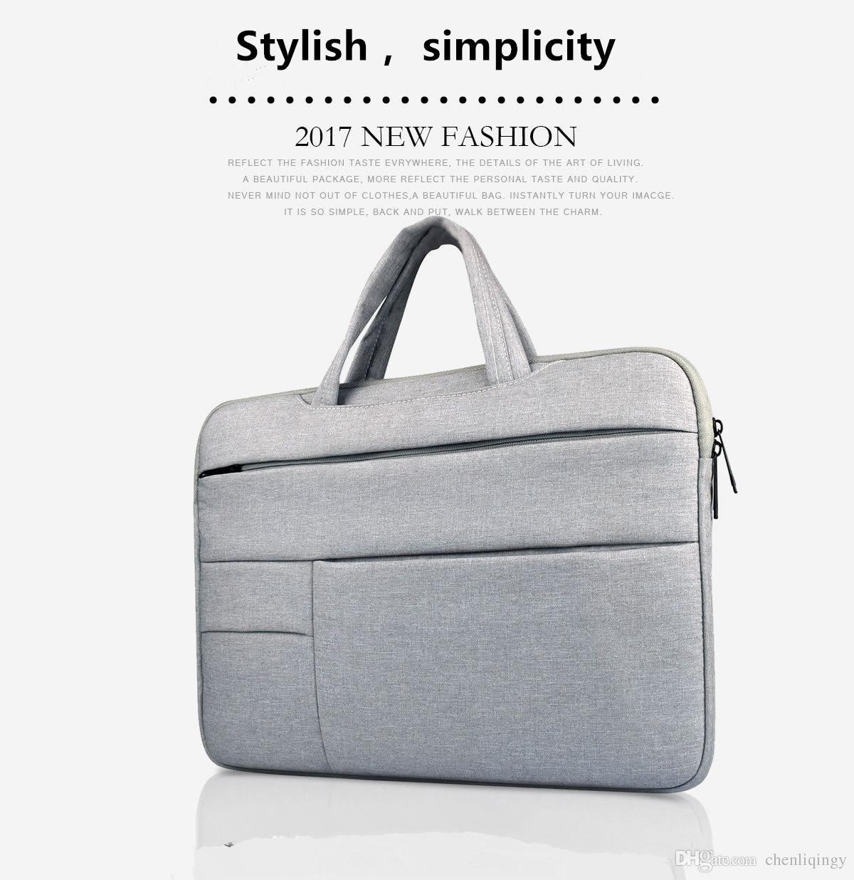 Hot Top Laptop portátil Sleeve Sleeve Case Notebook 11 12 13 14 15 15,6 polegada Capa Mole para Retina Pro 13.3