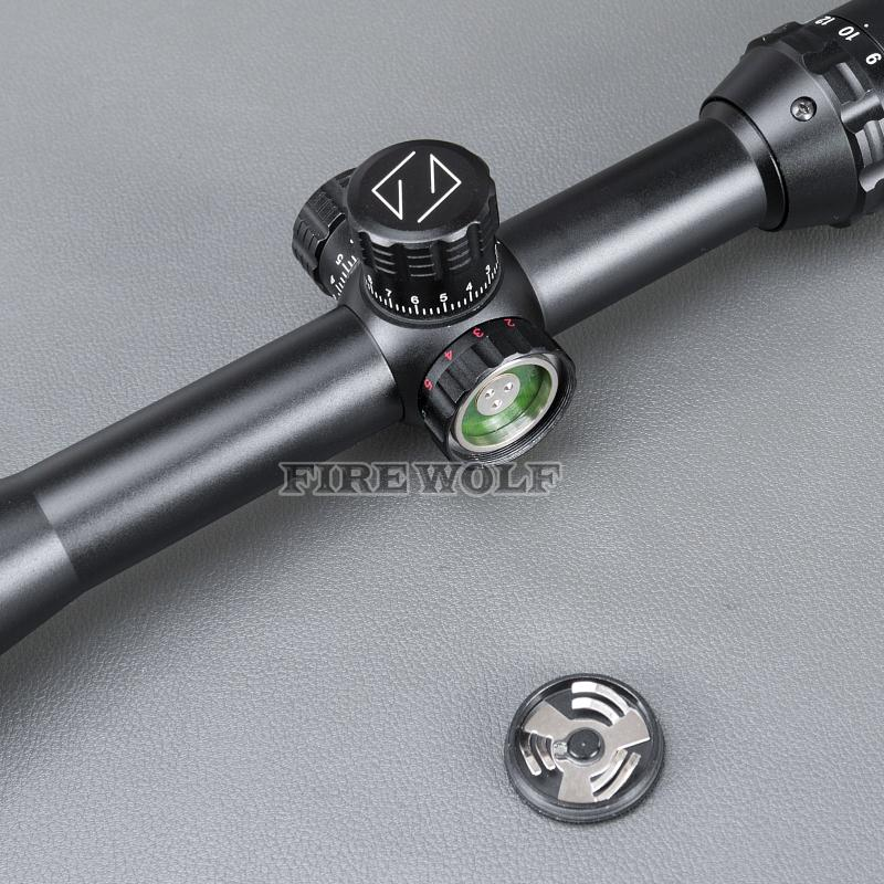 Carl Zeiss 4-16x40 White Markings Green and Red Illuminated Riflescopes Rifle Scope Hunting Scope