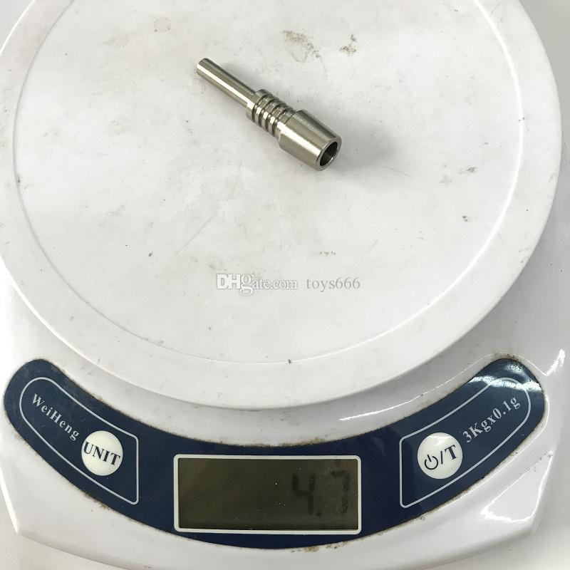 الرحيق جامع مجموعة التيتانيوم مسمار 10 ملليمتر سعر المصنع مشترك الصف 2 تي مسمار مقابل الكوارتز مسمار السيراميك تلميح ل dab تلاعب بونغ dhl