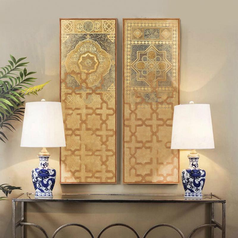 Acheter Moyen Orient Turquie Style Marocain Longue Peinture Sur