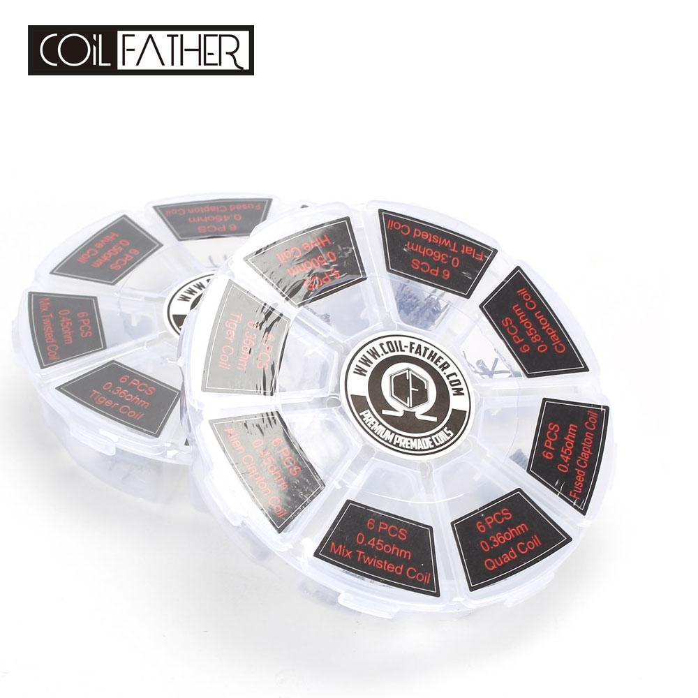 Coil father 8 in 1 coil wheel a wheel different a1 coils fused coil father 8 in 1 coil wheel a wheel different a1 coils fused clapton tiger hive alien clapton coils type 8 in 1 fused clapton alien clapton online with asfbconference2016 Gallery