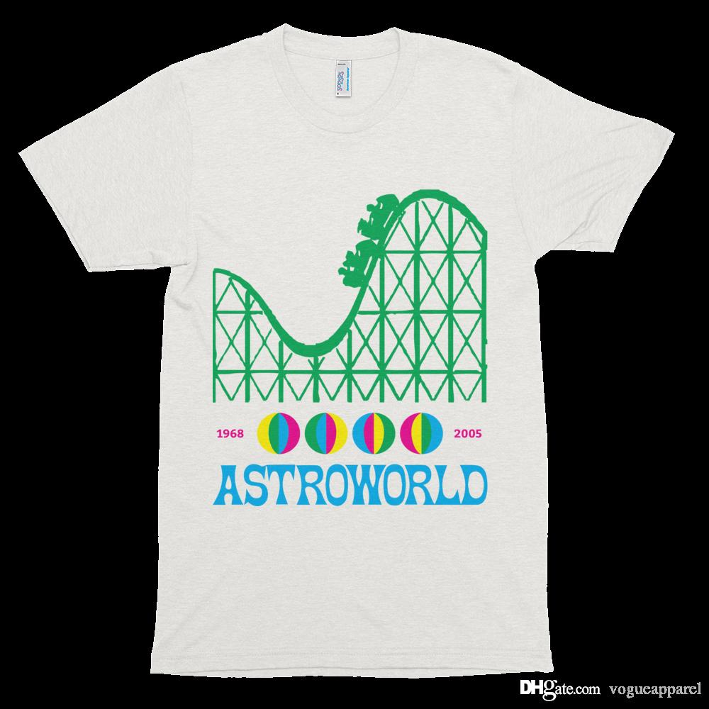 e65fc5076db9 2019 Mens Tshirt Travis Scott Astroworld Album 3D Print T Shirt Loose Hip  Hop Tee New ARRIVAL Cotton Tees From Vogueapparel, $40.33 | DHgate.Com