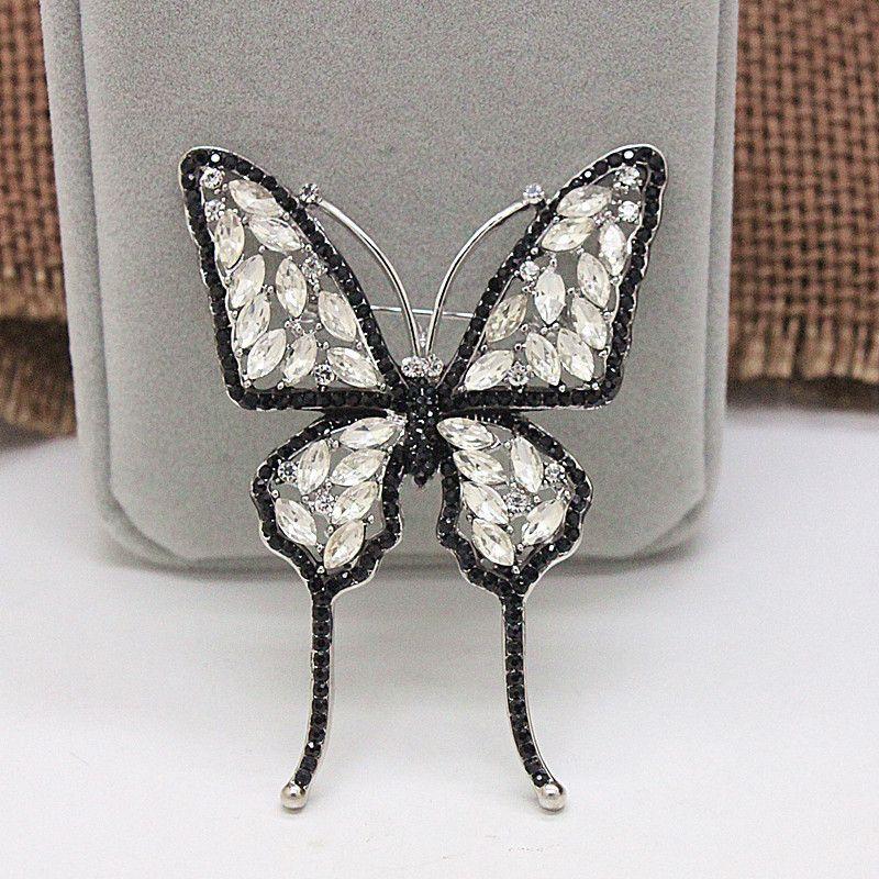 Zirconia Jewelry Set China Wholesale Wedding Invitation Butterfly