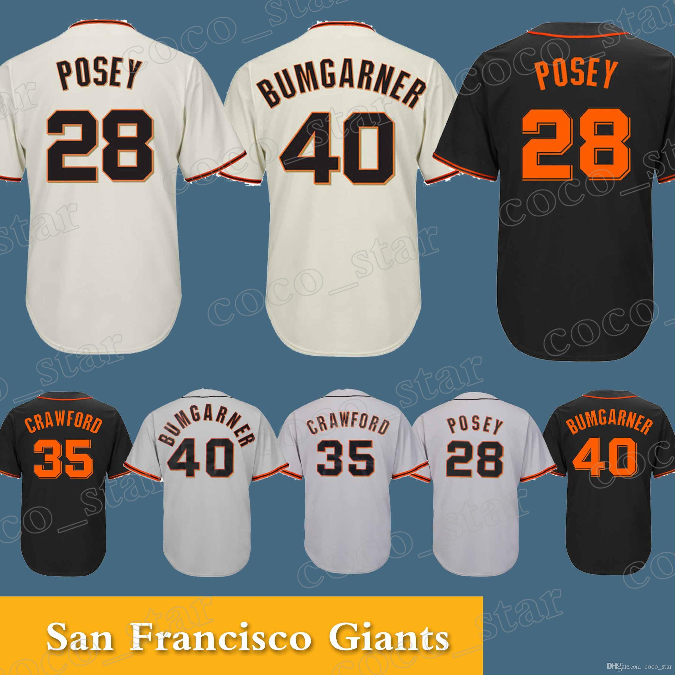 58b871d6 ... top quality discount code for san francisco giants jersey 35 brandon  crawford 40 madison bumgarner high