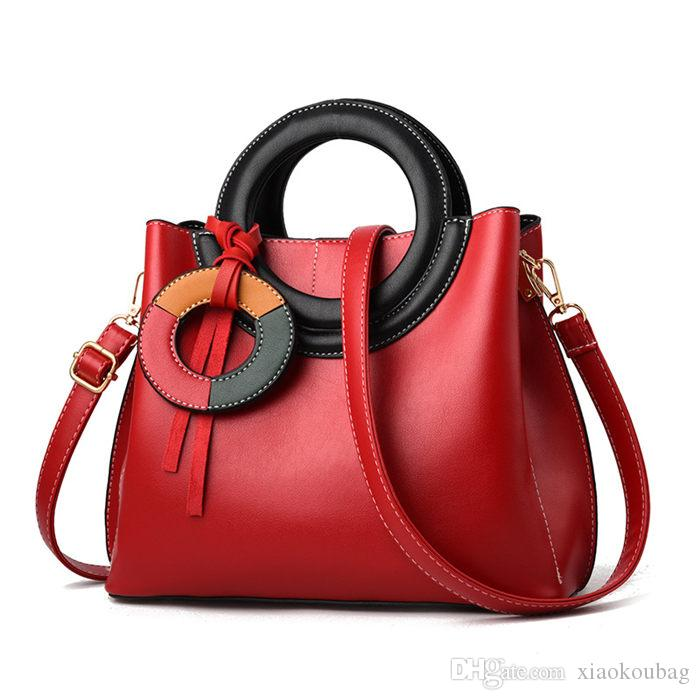 Designer Handbags Shoulder Bag Fashion Ladies Brown Leather ... 0027b1b495