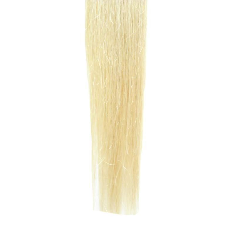 Ombre Brazilian Hair Skin Weft Tape Hair Extensions Unprocessed Virgin Brazilian Hair 100g  Straight T1B/613 Bleach Blonde