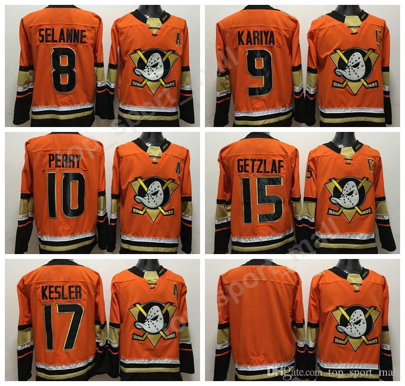 super popular ac6aa 008eb Anaheim Ducks Stadium Series Jerseys Hockey 10 Corey Perry 15 Ryan Getzlaf  17 Ryan Kesler Jersey 8 Teemu Selanne 9 Paul Kariya