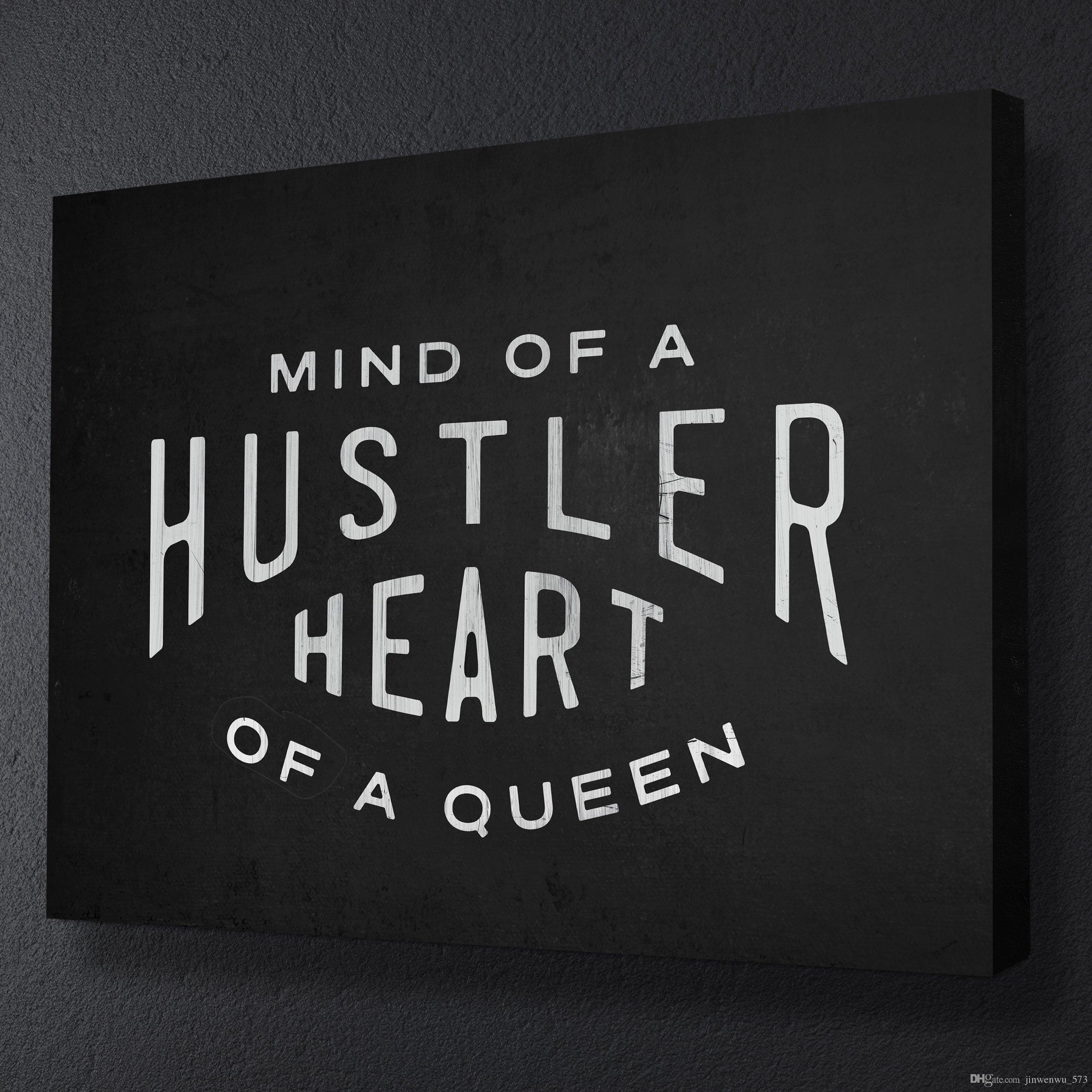 Hustler art print mine, not