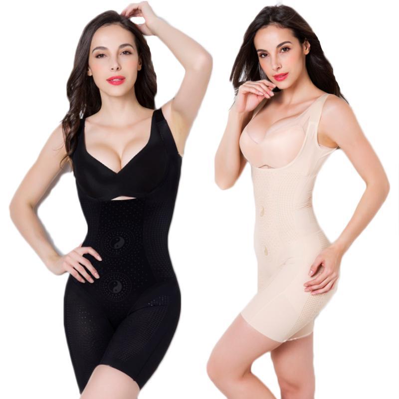 2d017d0054f84 2019 Body Shapers Women Body Magic Shapewear Plus Size Slimming Bodyshaper  Butt Lifter High Waist Burn Postpartum Shaping Underwear From Honhui
