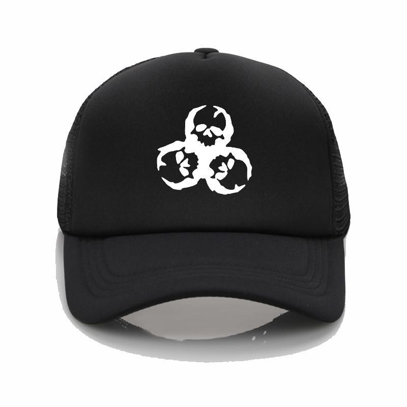 3ba2d665ec2 Fashion Hat ZOMBIE Skull Print Baseball Cap Mesh Sports Cap Fashion Hip Hop  Hat Novelty Men And Women Summer Sun Hat Baseball Caps Custom Hats From ...