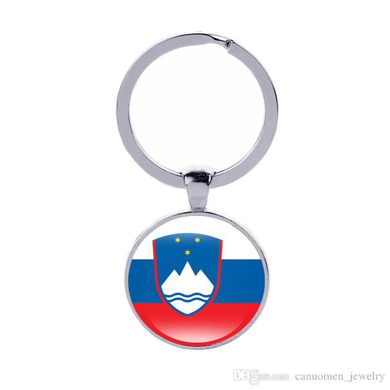 Coat of Arms of Keychain Slovenia Spain Greece Italy Country Flags ... 6794b94c87