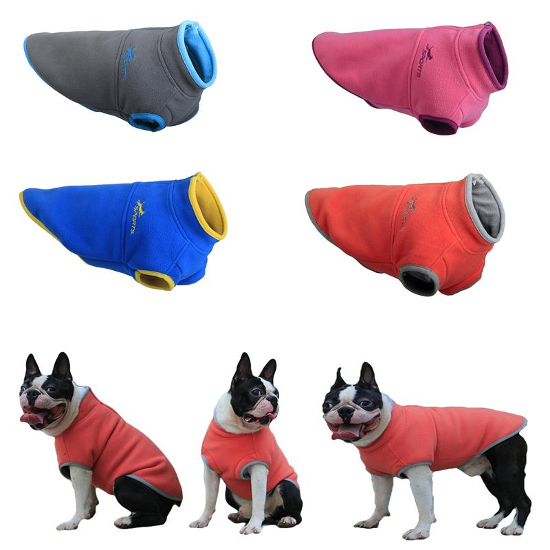 435673244552 2019 Warm Fleece Dog Vest Winter Pet Clothes For Small Medium Dogs Puppy  Clothing Chihuahua Coat Jackets Pug Costumes Hondenkleding From Homegardan