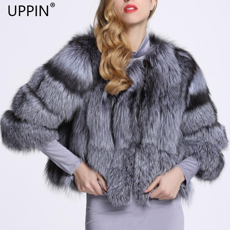 b2d04170bdfdd 2019 UPPIN 2018 New Silver Fox Fur Coat Women Autumn Winter Warm Faux Fur  Coats Large Size Women S Winter Clothing Fake Fur Jacket C18110901 From  Linmei0006 ...