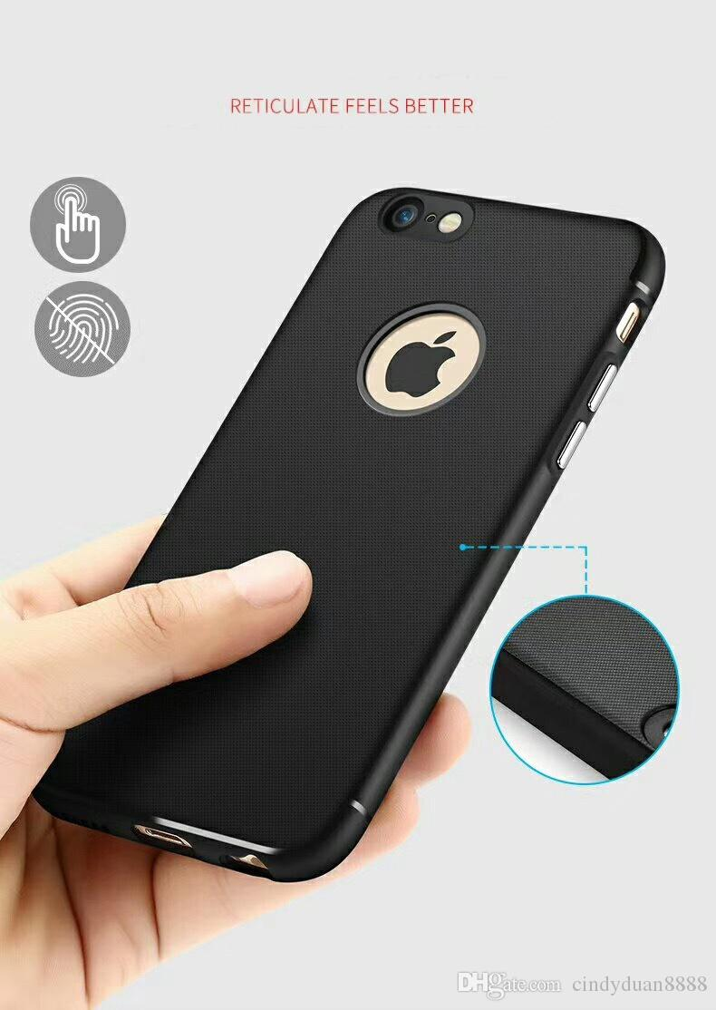 For iphone X 8 7 6 6s plus Car magnetic phone case Thermal TPU soft shell protective cover Car Phone Holder Funda Accessories