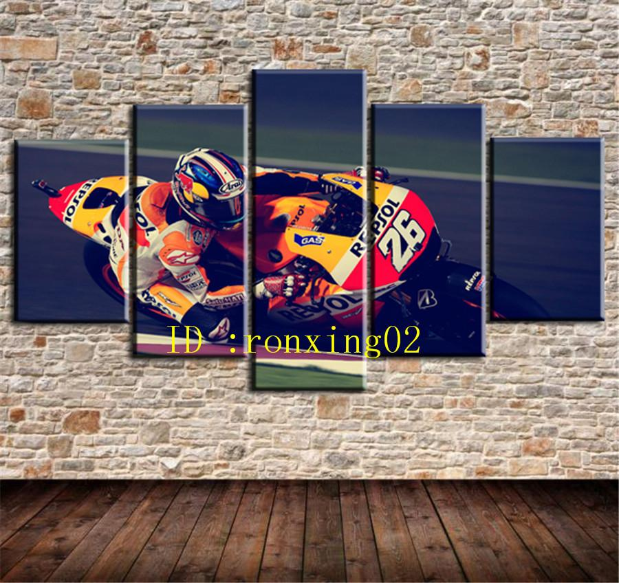 2019 Crazy Racing Home Decor HD Printed Modern Art Painting On Canvas Unframed Framed From Ronxing02 1538