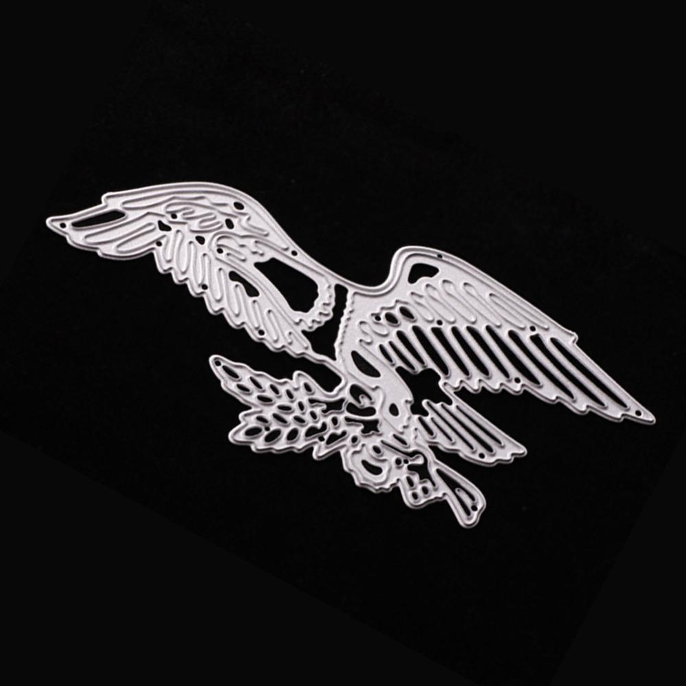 135*65mm Cusomized Eagle Wing Embossing Template Carbon Steel ...