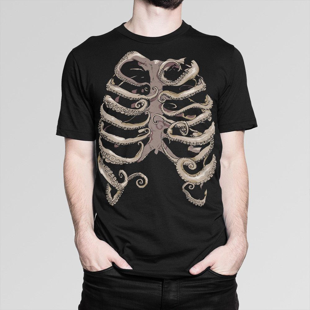 27f31c2e Octopus Chest Anatomy T Shirt, Men'S Women'S All Sizes 2018 Men'S Lastest  Fashion Short Sleeve Funky Tee Shirts Humor T Shirt From Guccitshirts, ...