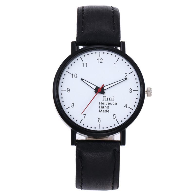 bayan saat modelleri Women s Girls Fashion Watch Leather Strap Analog  Quartz Glass Mirror Watches orologio donna elegante
