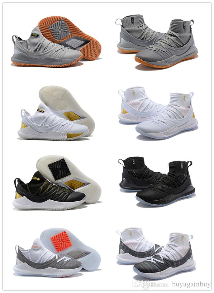 8f745c8ca884 2018 Stephen Curry 5 Men Basketball Shoes Currys 5s Championship MVP Finals  Sports Training Mens Trainers Sneakers Size 40-46 Online with  57.15 Pair  on ...