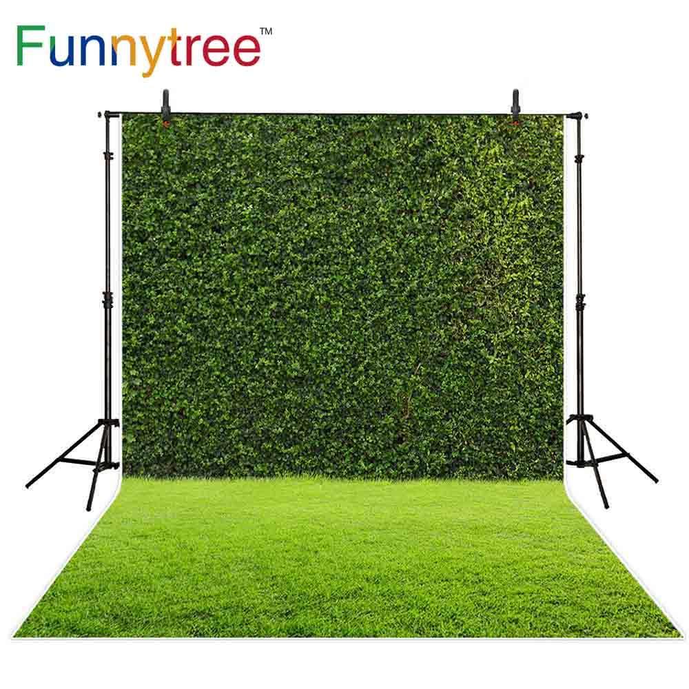 2019 wholesale backdrop photocall backyard artificial abstract green