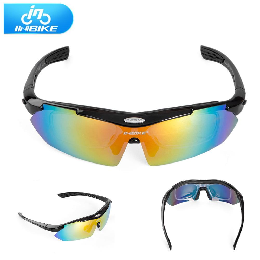 05655e65c34 2019 INBIKE Ultra Light Unisex Cycling Glasses Windproof Outdoor Sport MTB  Bike Polarized Goggles Sunglasses Bicycle Accessories New From Booket