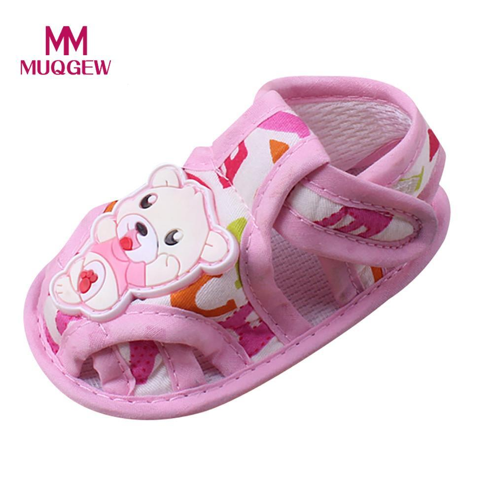 e4ac33d41f6581 Baby Sandals Shoes For Kids Girl Soft Sole Cartoon Anti Slip Casual Shoes  Toddler Girls Boys Sandals Baby Girls  M Cute Toddler Sandals Shop Kids  Shoes From ...
