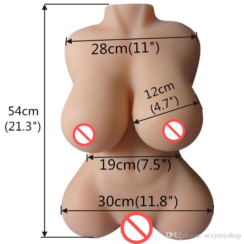 Hot Real Silicone sex Dolls Torso Japanese Realistic sex doll male rubber PUSSY masturbator Adult Toys full size Love SEXY DOLL For Men