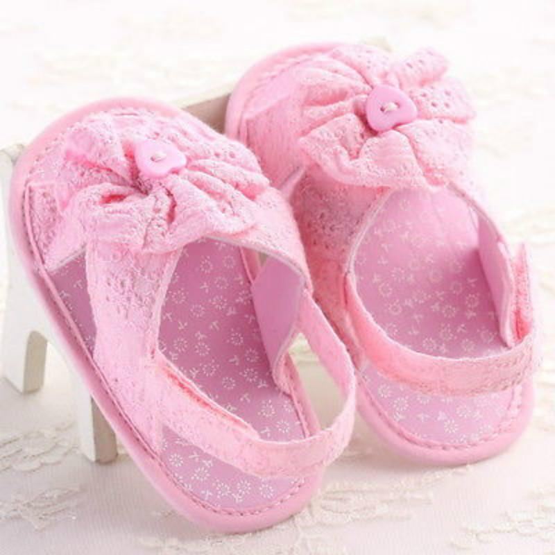 Pudcoco Summer Fashion Lace Baby Girls Shoes Fancy Toddler Baby Kid Girl  Summer Soft Sole Flower Sandals Anti Slip 0 18M Pretty Shoes For Girls Kids  Sneaker ...