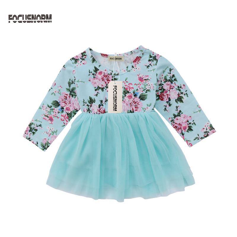 9e0ac764f 2019 Autumn Winter Baby Girls Newborn Dress For Christening 1 Year ...