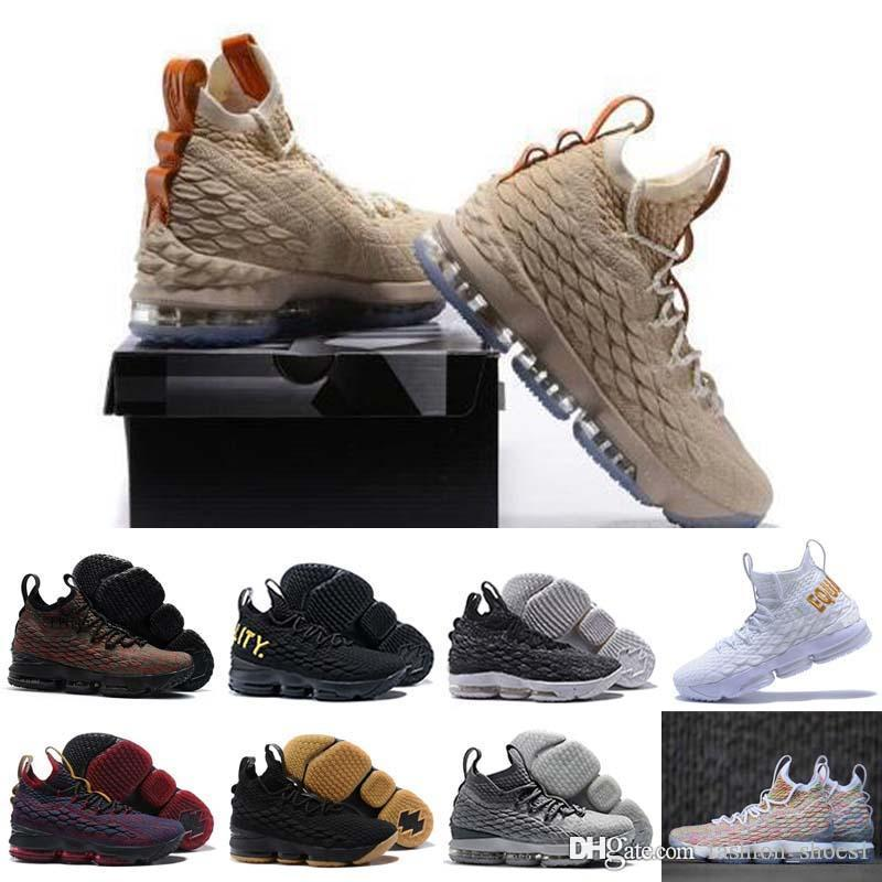 3f415f8b5289e 2018 New High Quality Newest Ashes Ghost Lebron 15 Basketball Shoes Shoes  Arrival Sneakers 15s Mens Casual 15 Sports Shoes Size 40 46 Kid Shoes On  Sale ...