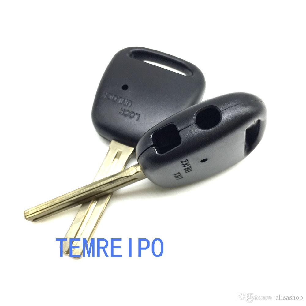 Replacement Key Case Fix For Toyota Side 2 Button Remote Key Shell With TOY48 Short Blade