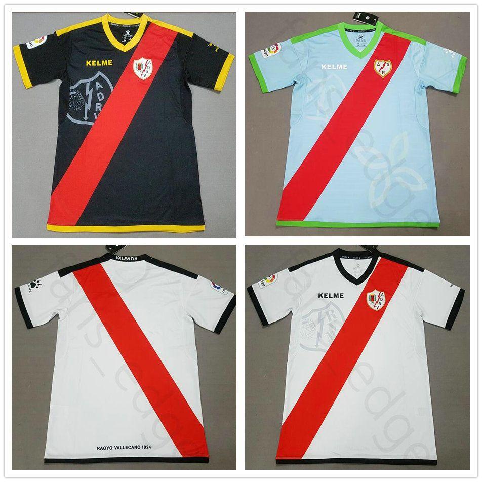 ba379438d7f6b Talla S XXL 2018 2019 Rayo Vallecano Camiseta De Local Lejos Alex Moreno  Camisetas De Fútbol Personalizadas 18 19 SAD Rayo Vallecano Tercera Camiseta  De ...