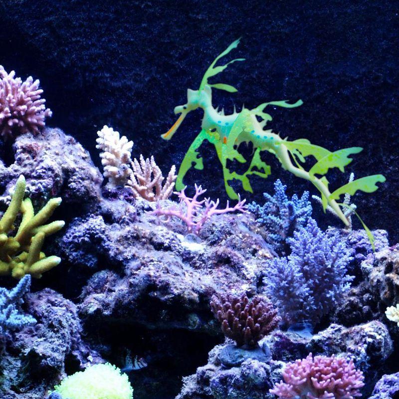 Novelty Aquarium Silicone Leafy Seadragon For Home Fish Tank