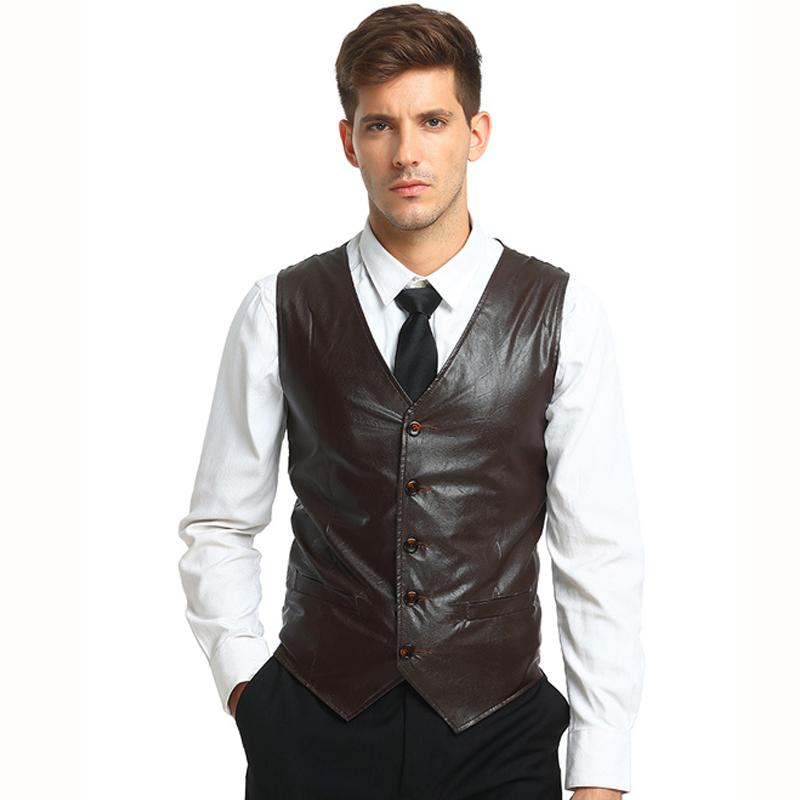 bed5d93f0b07 2019 Tops Men S Suit Vest Waistcoats New Arrivals Smart Casual Style  Business Casual Solid Color Sleeveless