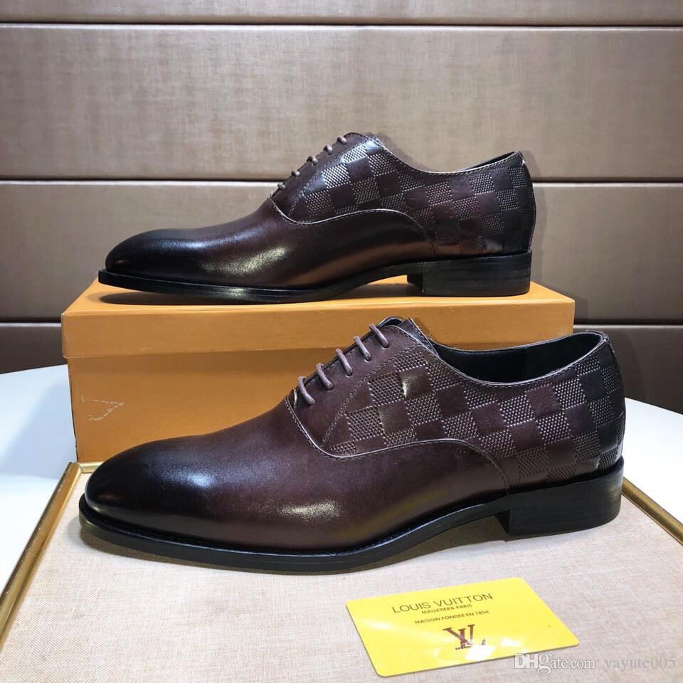 Top luxury Mens shoes The original designer perfect recovery Casual shoes genuine Cow leather handmade Green red green belt Model 4567934736