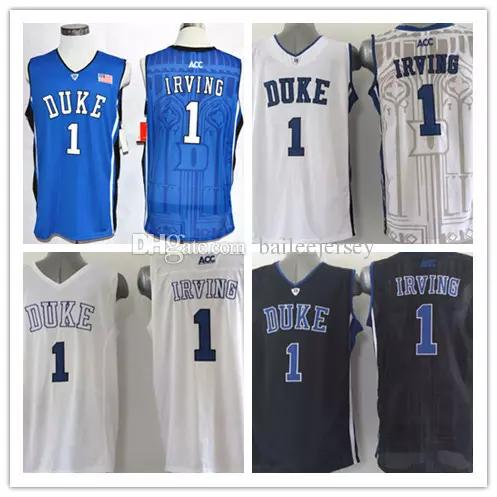 ... order 2018 new top quality 1 kyrie irving duke jersey blue devils  college basketball jerseys stitched 043ea0b16