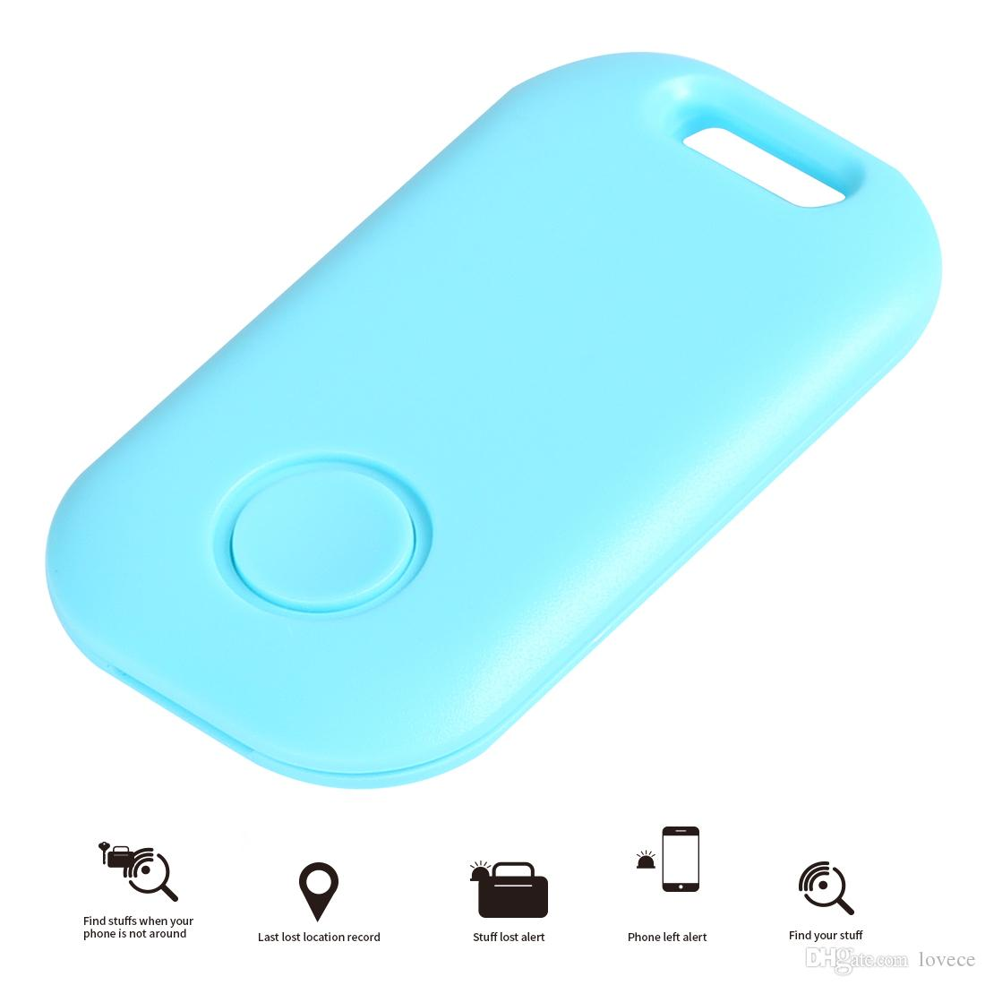 Mini Wireless Anti-Lost Alarm Bluetooth Tracker with Camera Shutter and for Pet Phones Luggage Old People Children SAM_30H