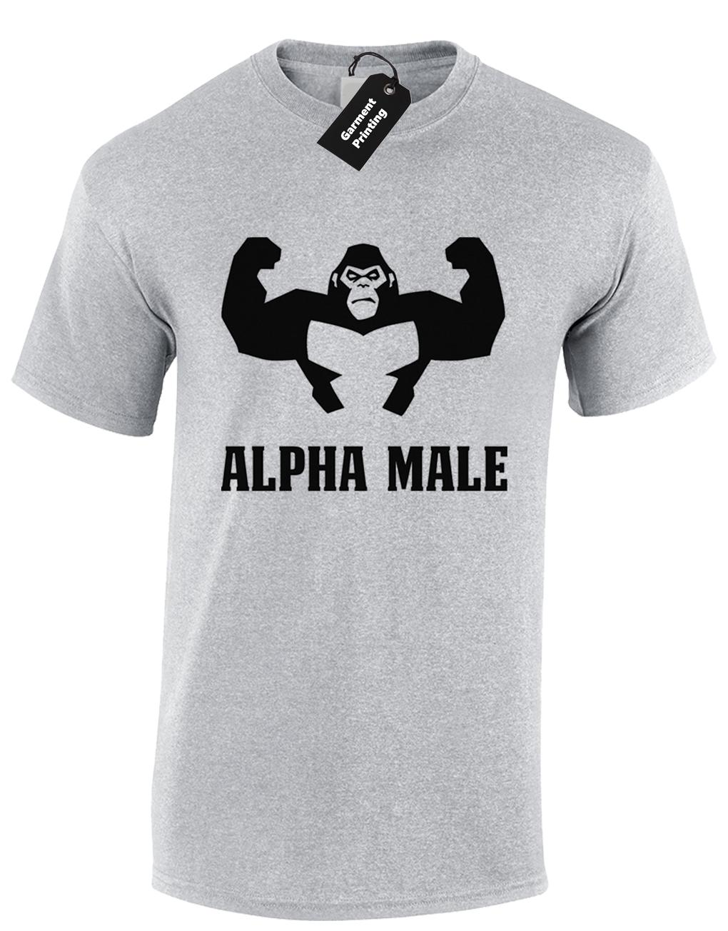 4461cefaa5f6 ALPHA MALE GORILLA MENS T SHIRT GYM FITNESS BODYBUILDING DESIGN TRAINING  TOP NEW Funny Unisex Casual Gift Vintage T Shirts Band T Shirts From  Superstartees, ...