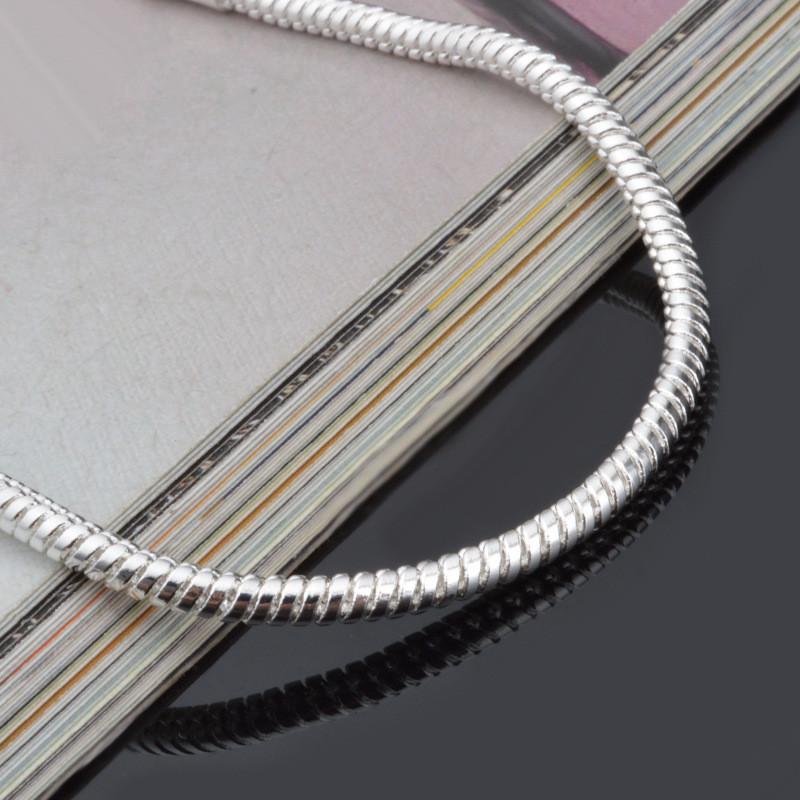 Modyle женские мужские браслеты серебряного цвета браслеты свадебные аксессуары серебряный цвет 3 мм браслеты браслеты браслеты