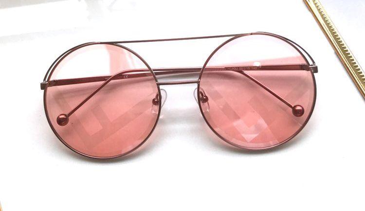 5f3b2fdae64 2018 Hot Sale Spring Summer Luxury Sunglasses For Women UV Protection  Lenses Brand Designer Vintage Eyewear Round Frame Sunglasses Spitfire  Sunglasses ...