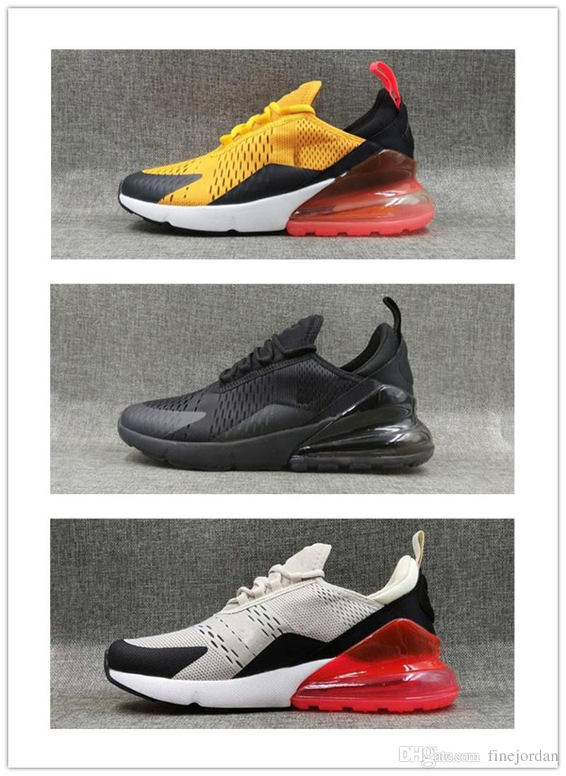 Inexpensive high quality Mens Triple Black 270 casual Shoes 2018 Wholesale mens 270 casual 7-12 sale wholesale price kzltW
